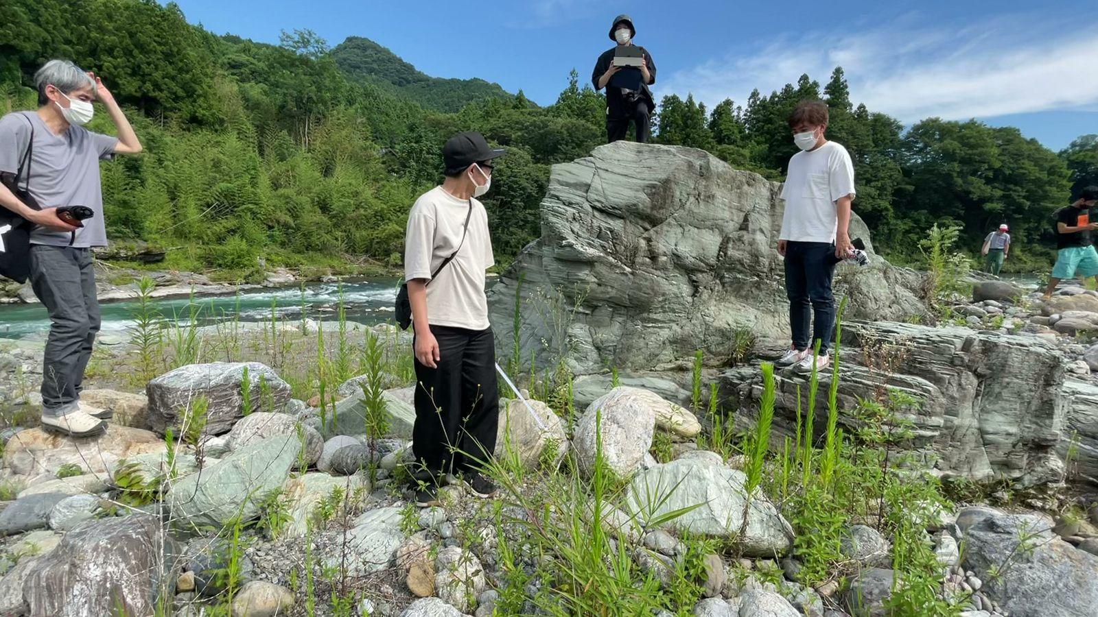 【レポート】「water state 1」石選定〜採集〜展示編